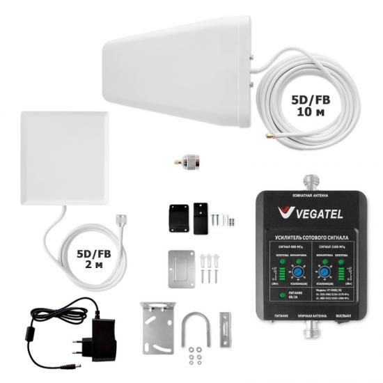 Готовый комплект VEGATEL VT-900E/3G-kit (дом, LED)