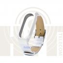 Ремешок для Xiaomi Mi Band 2 White кожаный