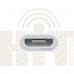 Переходник Lightning to Micro USB White