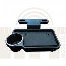 Раскладной столик для автомобиля с креплением за подголовник