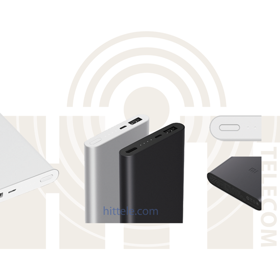 Внешний аккумулятор Xiaomi Power Bank 2 10000 mAh Black