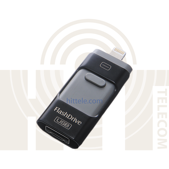 i-Flash Drive флешка для iPhone/iPad/Android (64gb) Black