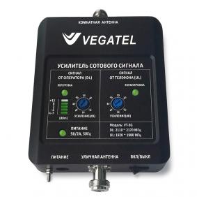 Репитер 3G сигнала VEGATEL VT-3G (LED 2017 г.)