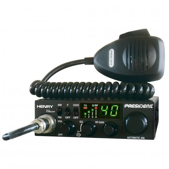 Автомобильная радиостанция President Henry ASC Classic