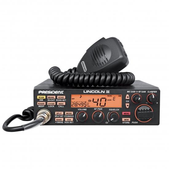 Автомобильная радиостанция President Lincoln II ASC MOD