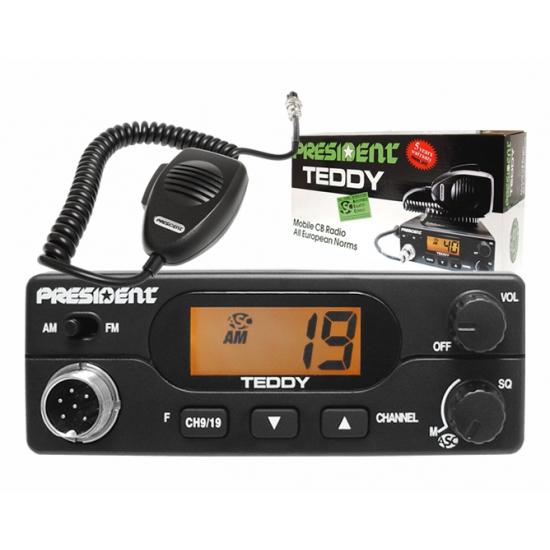 Автомобильная радиостанция President Teddy ASC